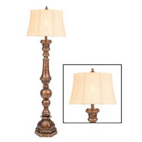 Bronze Harmon Floor Lamp