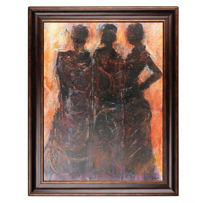 Figurative Framed Art Print