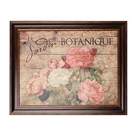 Le Jardin Roses Framed Art Print
