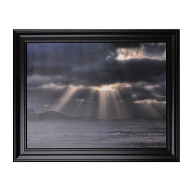 Shifting Light Framed Art Print