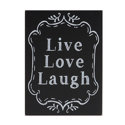 Live Love Laugh Wall Plaque