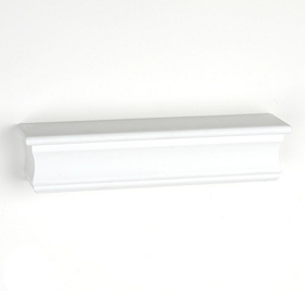 White Wall Shelf, 18 in.