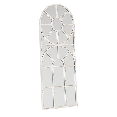 Rounded Chapel Window Mirror