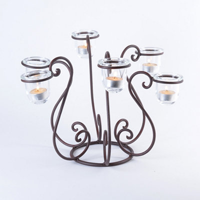 Tiered Tealight Candle Holder