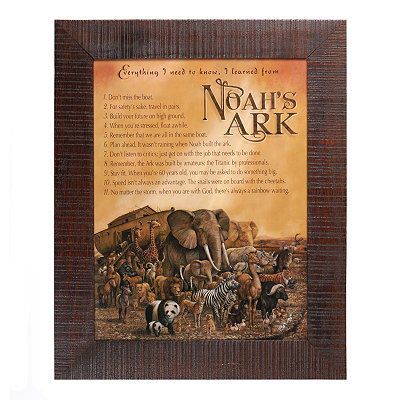 Noah's Ark Framed Art Print