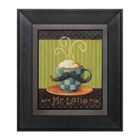 Mr. Latte Framed Art Print