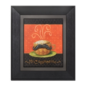 Mr. Cappuccino Framed Art Print