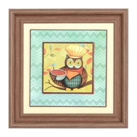 Who's in the Kitchen Framed Print