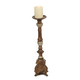 Regal Champagne Candlestick, 20 in.