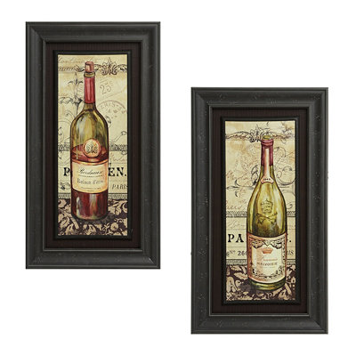 French Wine Framed Art Prints