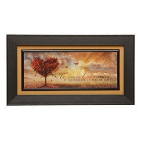 The Way To Love Framed Art Print
