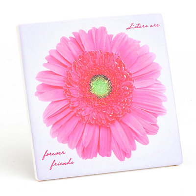 Sisters Are Forever Friends Decorative Tile