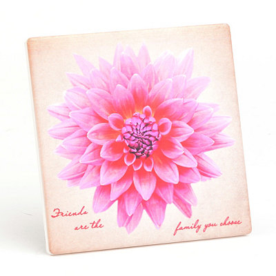 Friends Are Family Decorative Tile