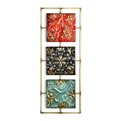 Jewel Tone II Tile Panel