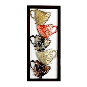 Coffee Mugs I Metal Plaque