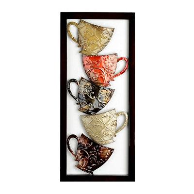 Coffee Mugs I Metal Plaque