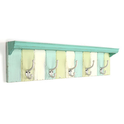Green Panels Wall Hook