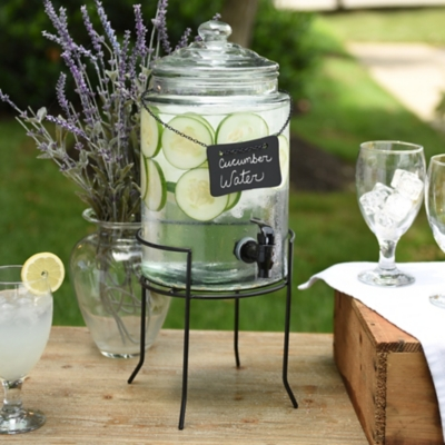 Chalkboard Label Beverage Dispenser