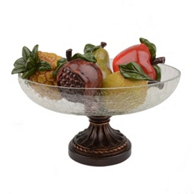 Large Oblong Fruit and Bowl Set