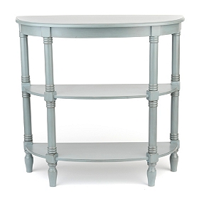 Arctic Blue Console Table