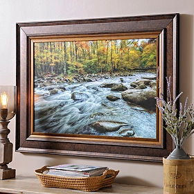 Mountain Stream Framed Art Print