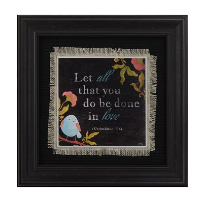 Bird Friend I Framed Art Print