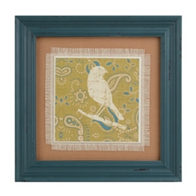 Paisley Bird I Framed Art Print