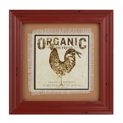 Farmers Market II Framed Art Print