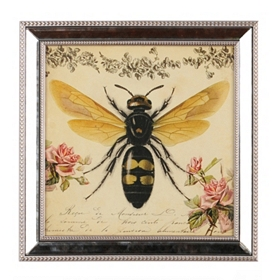 Botanical Bee Framed Art Print
