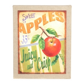Sweet Apples Wall Plaque