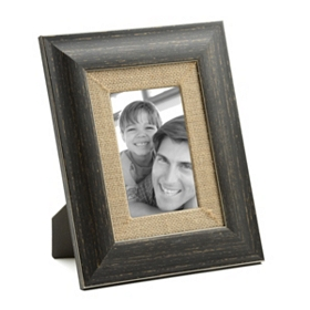 Distressed Black Barnwood Picture Frame, 4x6