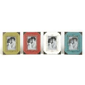Vintage Corner Picture Frames, 4x6