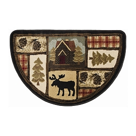 Henderson Moose Hearth Rug