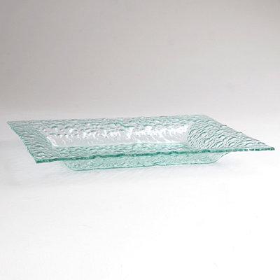 Pebbled Glass Platter
