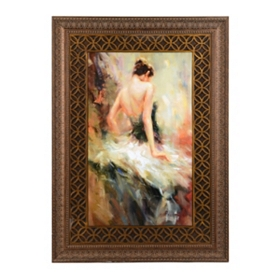 Beautiful Moments I Framed Art Print