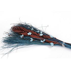 Blue Dried Grass Bouquet