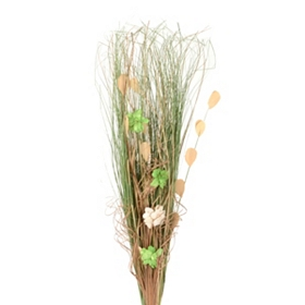 Green Dried Grass Bouquet
