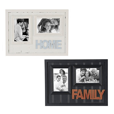 Home & Family Beadboard Picture Frames