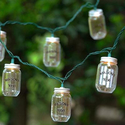 Mason Jar String Lights