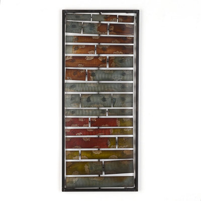 Layered Ombre Panel I Wall Plaque