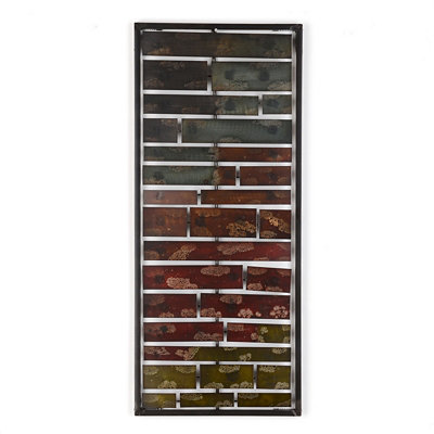 Layered Ombre Panel II Wall Plaque