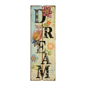 Owl Dream Wall Plaque