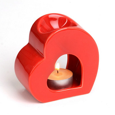 Ceramic Heart Oil Diffuser