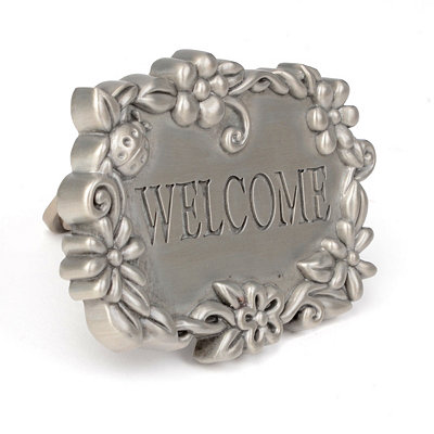Welcome Wreath Door Knocker