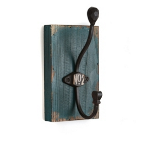 Teal No. 2 Wall Hook