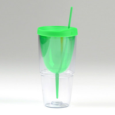 Green Insulated Wine Sipper