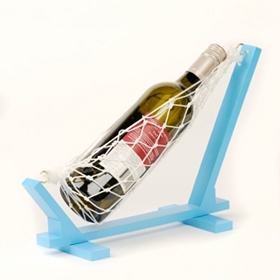 Blue Wine Holder Hammock