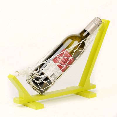 Green Wine Holder Hammock