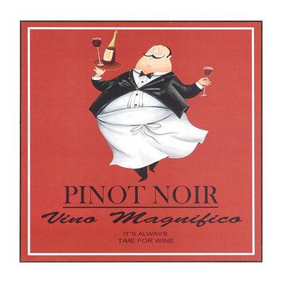 Vino Chef Pinot Noir Wall Plaque