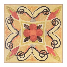 Decorative Bohemian I Wall Tile